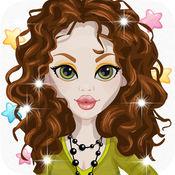 装扮游戏为女孩 & 孩子免费-有趣的美容美发 2 1