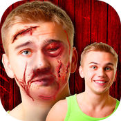 疤痕 面对 - 摄影 艺术 改造 和 图片 蒙太奇 对于 最好 编辑 免费