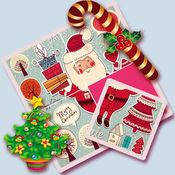 儿童绘本拼图智力游戏大全 - 圣诞老人 - 圣诞树和礼物 1
