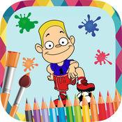 体育画 - 图画书绘制和油漆的足球,网球,棒球图片 1.1