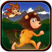 惊人的野生狮子踏跳跑动物丛林运行   Amazing Wild Lion T