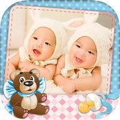 婴儿相框 - 照片拼贴 1