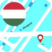 匈牙利離線地圖