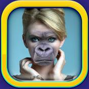 动物头拍照效果 – 脸部互换照片蒙太奇与滑稽的贴纸 1