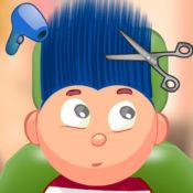 儿童游戏/剪发(深蓝色) 1