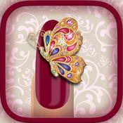 魅力女子美甲沙龙 - 指甲美术设计和修指甲在女孩化妆游戏