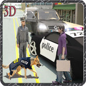 犯罪大通2016年亲狗救援任务,巡逻与真正的警灯警报器和警车