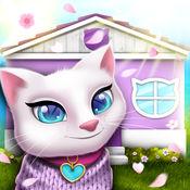 装修房子游戏 – 猫: 宠物的房子模拟器为孩子们 1