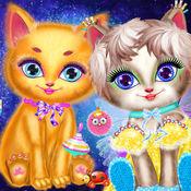 宠物猫化妆沙龙 - 女孩游戏 1