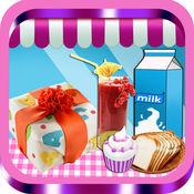 宝宝厨房-派,果汁,奶昔,奶油蛋糕:创意小厨师 1.2