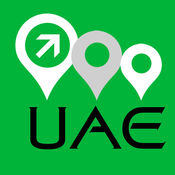 阿拉伯联合酋长国地图 9
