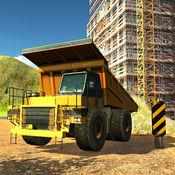 泥头车转运 - 三维起重机操作模拟器 1