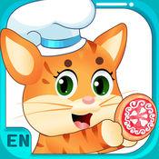 汤姆欢乐餐厅,儿童游戏,爸爸妈妈和宝宝的游戏-EN 1