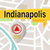 印第安納波利斯 离线地图导航和指南 1