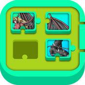 史诗老板勇士比赛 - 瓷砖滑块拼图游戏 FREE