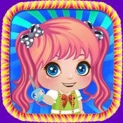 宝贝时尚沙龙:装扮女孩游戏免费 5