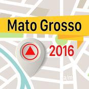 Mato Grosso 离线地图导航和指南 1