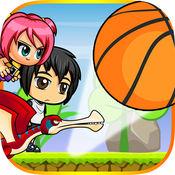 孩子 VS 篮球 - 弹跳 球 和 跑 跳 1.1