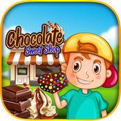 巧克力糖果店 - 让与草莓糖果甜点可可在这种优越的冒险游