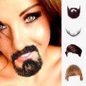 胡子和头发贴胡子照片编辑器 1