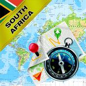 南非 - 离线地图...