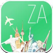 南非 离线地图和航班。机票,机场,汽车租赁,酒店预订。免费导航。