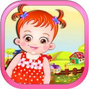 可爱的小跳线 - 可爱的宝宝弹跳游戏 LX 1