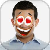滑稽的脸贴纸相机 – 疯狂的卡通邮票和漫画照片蒙太奇 1