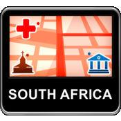 南非 矢量地图 -...