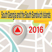 南乔治亚岛和南桑威齐群岛 离线地图导航和指南 1