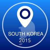 韩国离线地图+城市指南导航,景点和运输 2.5