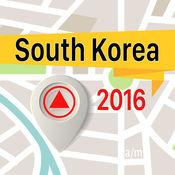 韩国 离线地图导航和指南 1
