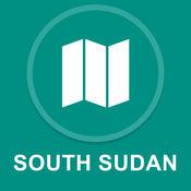 南苏丹 : 离线GPS导航 1