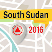 南苏丹 离线地图导航和指南 1