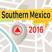Southern Mexico 离线地图导航和指南 1