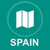 西班牙 : 离线GPS导航 1