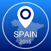西班牙离线地图+城市指南导航,景点和运输 2.5