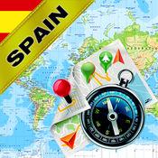 西班牙,葡萄牙 - 离线地图和GPS导航仪 1.8