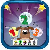 数学游戏的孩子。 数字,计数,加法 1.0.1