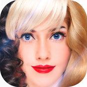 花哨的 发型 女孩 2016年  1.2