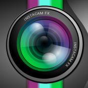 InstaCam FX HD - 在Facebook,Twitter+ Instagram的相机图