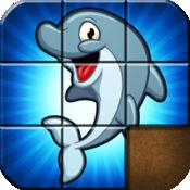 可爱的海洋动物瓷砖拼图 FREE 1