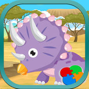 侏罗纪拼图恐龙游戏 1
