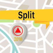 斯普利特 离线地图导航和指南 1