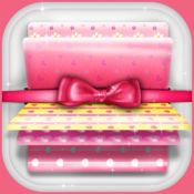 可爱与浪漫的高清手机动态壁纸 - 心脏和心背景 1.1