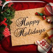 圣诞贺卡创作者 - 最好的照片电子贺卡理想的贺卡的集合 1