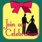 邀请卡在特殊的场合 - 生日派对请柬和明信片周年创造者 1