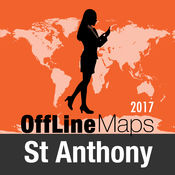 St Anthony 离线地图和旅行指南 2