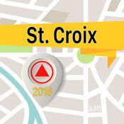 St. Croix 离线地图导航和指南 1