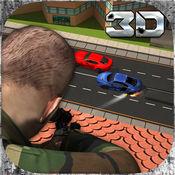 市军用狙击模拟器3D:在武装车辆打掉恐怖 1